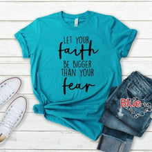 Load image into Gallery viewer, Summer Women Fashion Casual Graphic T-shirt Letter Print Funny T-shirt Short Sleeve Religious T-shirt 6 Colors S-5XL
