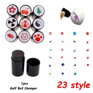 Golf Ball Stamper Quick-dry Personalized Golf Ball Stamp Seal For Marker Golfer Souvenir