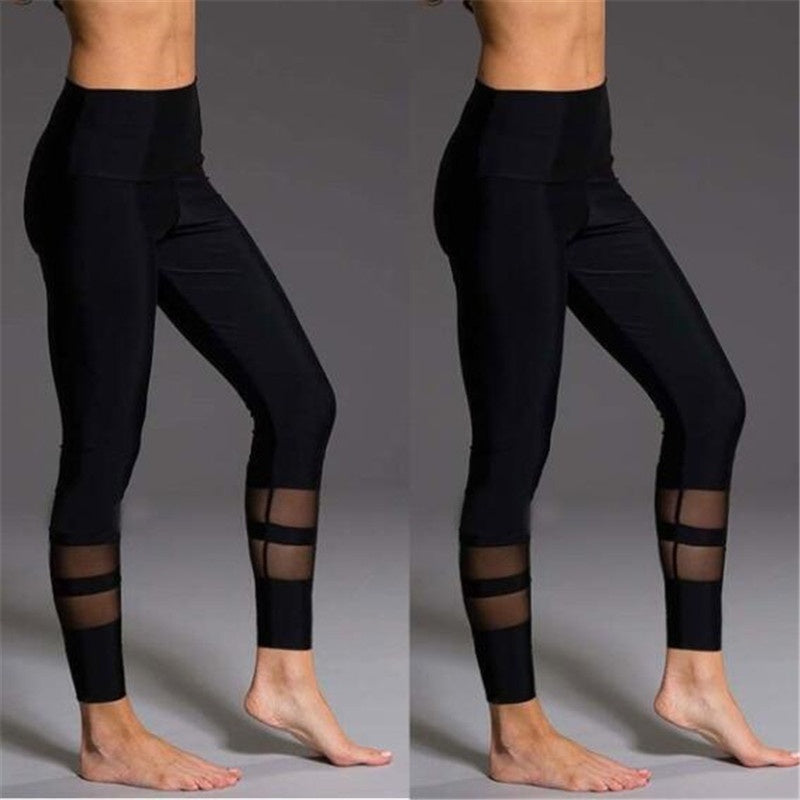 Fashion Women's Yoga Fitness Leggings Gym Stretch Sports High Waist Pants