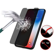 Load image into Gallery viewer, New 3D Privacy Anti-Spy Tempered Glass Screen Protector for iPhone X/XS MAX/XR/6/6s/7/8/6Plus/7Plus/8Plus