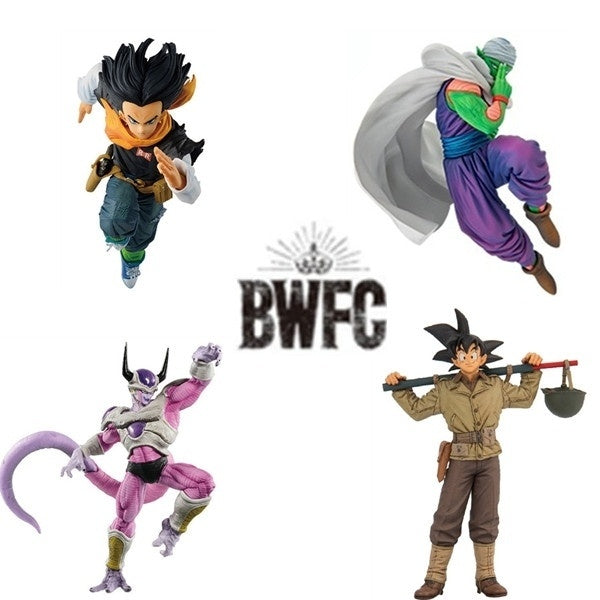 Anime Dragon Ball Z BWFC Goku Piccolo Freeza Android 17 PVC Action Figure Collection Model Toys