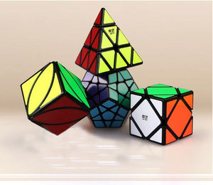 Qiyi Megaminx Pyramid Skew Ivy Magic Speed Cube Puzzle Set Educational Toys Children Kids Gifts
