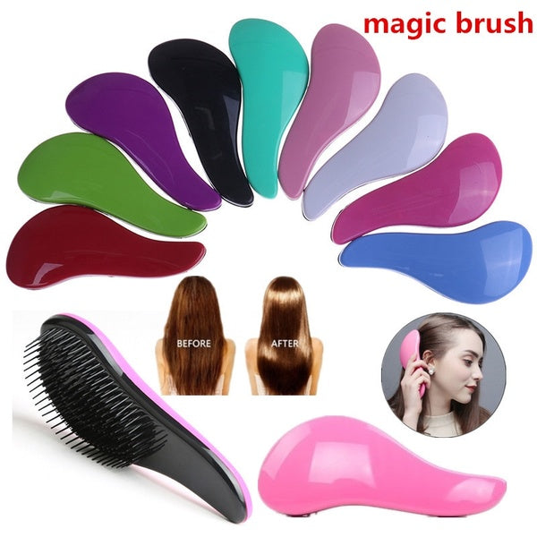 1pc Magic Detangling Handle Shower Tamer Hair Brush Comb Salon Styling Tool HANT