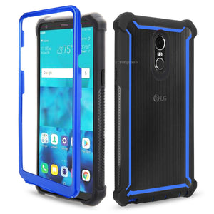 For LG Stylo4 Phone Case 360¡ã Full Protective with Free Screen Protector Shockproof Case Cover