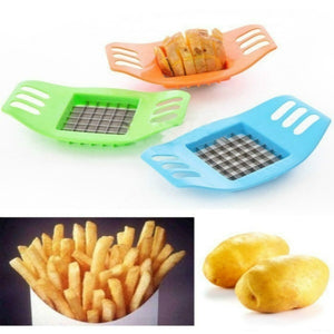 New 2019 Stainless Steel Potato Cutting Device Square Slicers Cut Fries Device