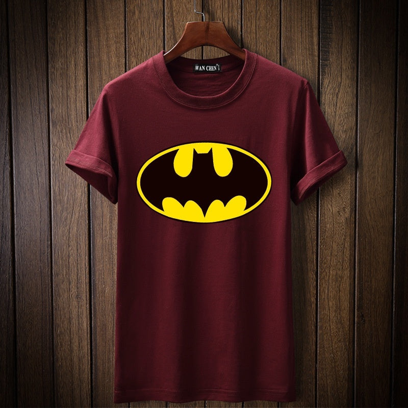 Men's Fashion  T-Shirts Full Size Batman Hip Hop Men Jersey