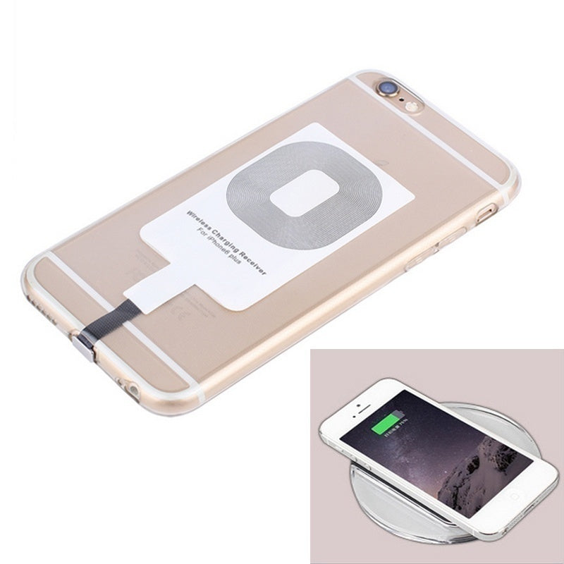 New Fashion Universal Black QI Wireless Charging Receiver for Android Iphone and Samsung
