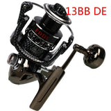 Spinning Fishing Reels Left Right Hand Freshwater Saltwater 13BB Powerful Ultra Smooth Fishing Reel