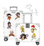 25PCS/ 50PCS/ 100PCS DRAGON BALL seven dragon beads personality cartoon anime luggage suitcase stickers mobile phone guitar skateboard decoration waterproof stickers