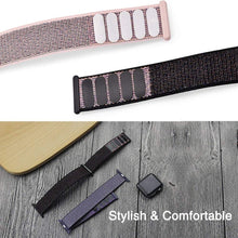 Load image into Gallery viewer, Stylish Nylon Watch Strap For Apple Watch Band 38mm/40mm For IWatch 4 Band 42mm/44mm Sport Loop Belt Bracelet For Apple Watch 4 3 2 1 Accessories