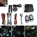 12V General Car Keyless Entry Engine Start Remote Ignition Starter Stop Keyless Push Button Alarm System