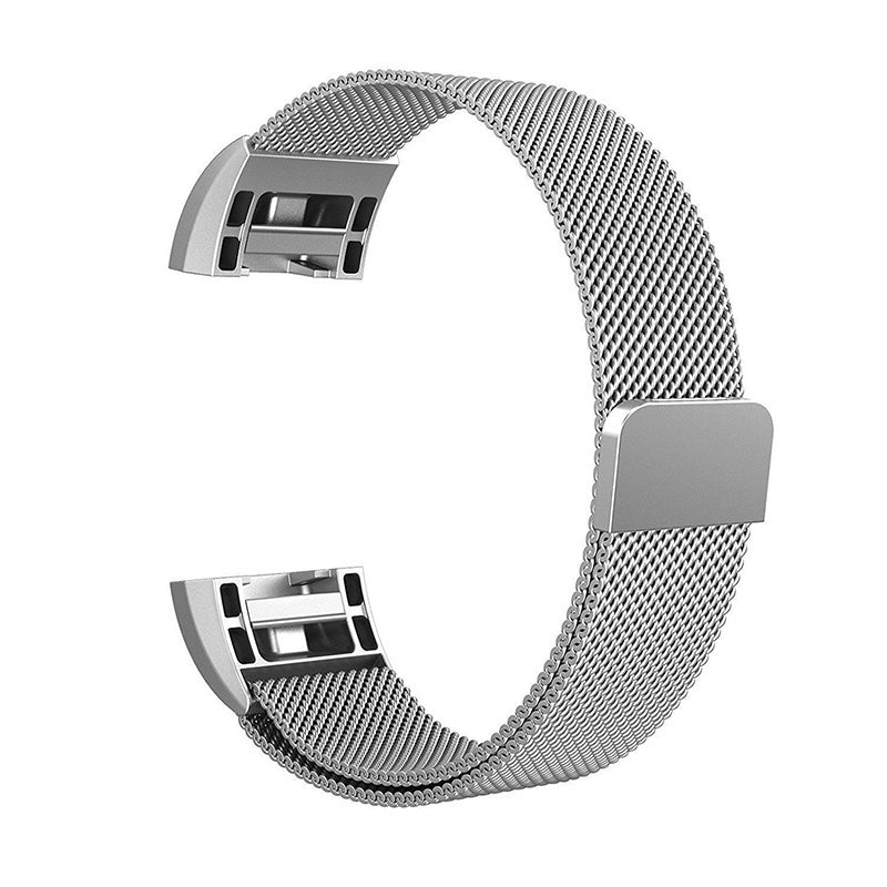 For Fitbit Charge 2 Watch Stainless Steel Strap Classic Milanese Mesh Band