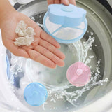 1PCS  Washing Machine Lint Filter Bag Laundry Mesh Hair Catcher Floating Ball Pouch Washing Machine Cleaning Tools