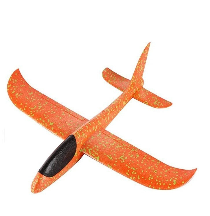 35 cm Foam throwing glider air plane inertia aircraft toy hand launch airplane model outdoor sports flying toy for kids children boy