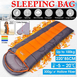 Lightweight Sleeping Bag (-5 - 20 Degree Celsius)Portable Sleeping Bag 4 Seasons Warm Cold Weather  Waterproof  with Compression Sack for Adults Kids Indoor Outdoor Camping Backpacking Hiking