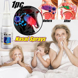 1PC Nasal Sprays Chronic Rhinitis Sinusitis Anti-snore Relief Sneezing Pain Spray Nose Care Allergic Rhinitis Sprays 20ml