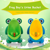 Cute Frog Potty Toilet Training Kids Wall-mounted Urinal For Boy Pee Trainer Children Gifts Bathroom Accessories