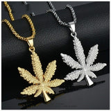 Plated Pot Diamond Pendant Necklace Snake Chain