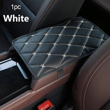 Load image into Gallery viewer, Car Armrest Pad Covers Leather Car Armrest Pad Mat Armrest Cover For Car Universal Car Armrest Cover Protector Car Accessories