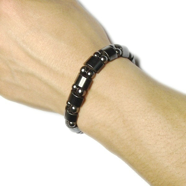 Black Weight Loss Magnetic Bracelet Health Fit Light Weight Slimming Jewelry