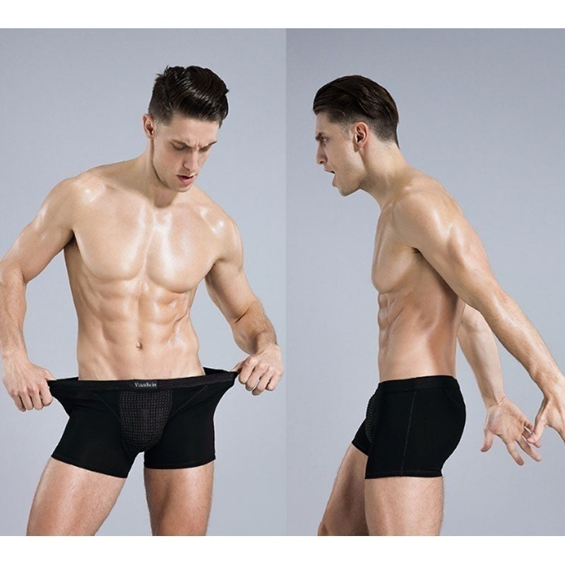 Male Magnetic Health Underwear Boxer Shorts with 26 Pcs Magnets for Male Pen1s Stronger