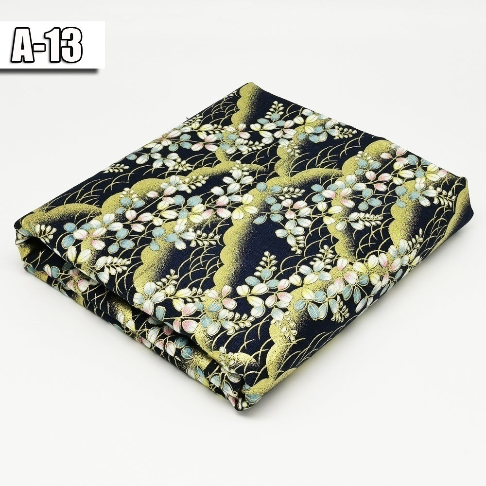 1*pcs 100% Thick Cotton Fabric Vintage Bronzed fabrics Tissues Quilting Fabric Brocade for DIY Sewing Patchworks