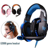 Surround Stereo HiFi Pro Gaming Headset with HD Mic for PS3 PS4 PSP XBOX PC Games Computers Game Virtual Sound Gamer