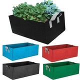 Fabric Garden Bed Rectangle Breathable Planting Container Grow Bag Planter Pot for Plants Flowers Vegetables