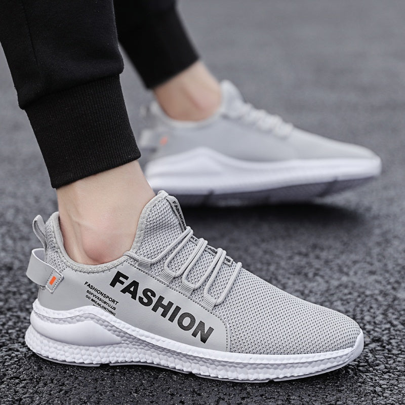 Casual Sneakers Men Athletics Running Shoes Breathable Knit Tennis Sports Shoes Trainers for Men