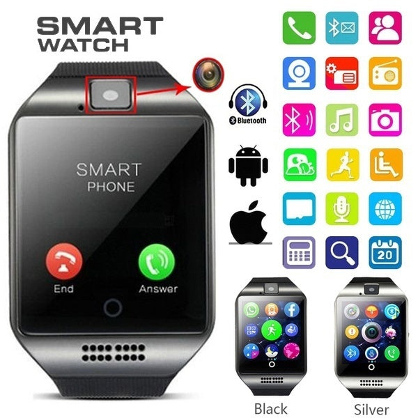 Touch Screen Bluetooth Smart Watch for Android/IOS/ Samsung /iPhone/ Huawei/HTC/ Sony/Nexus