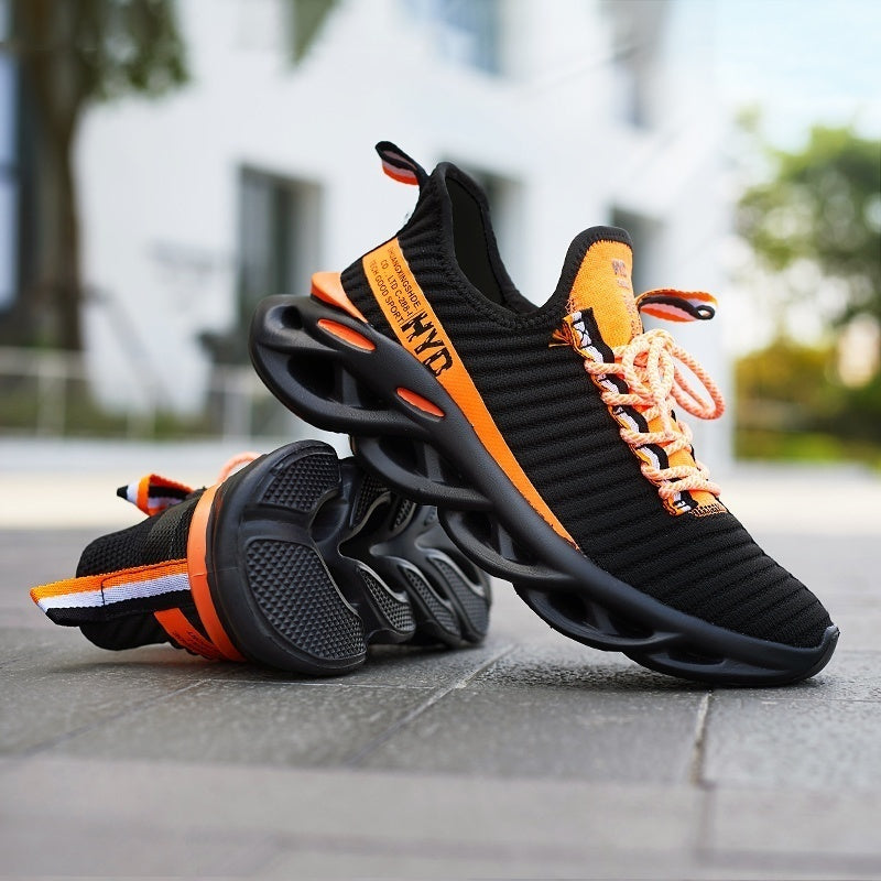 New!!! Men Mesh Sports Shoes New Walking Sneakers Running Shoes Tennis Shoes Athletic Sneakers Mesh Breathable Shoes Big Size:39-48
