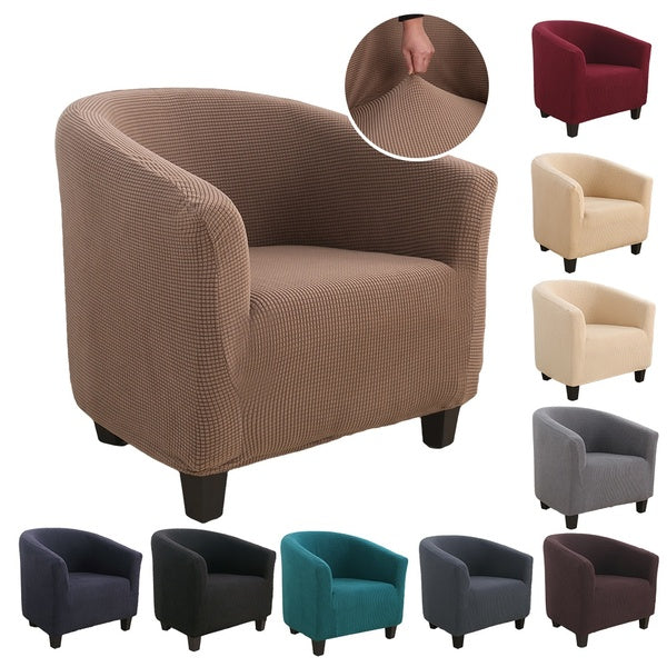 10 Colors Elastic Wing Chair Cover Elastic Armchair Sofa Back Chair Cover Stretch Protector SlipCover Protector