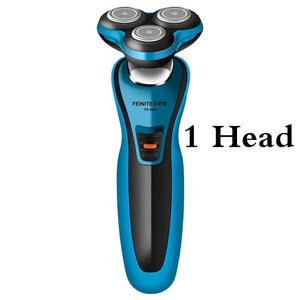 Trimmer Set 3 In 1 Shaver Waterproof Blade Electric Shaver Beard Rechargeable Electric Razor