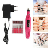 2020 Modern Electric Nail Drill Machine Polish Grinding Nail Art Manicure Tool Exfoliating Professional Nail Art