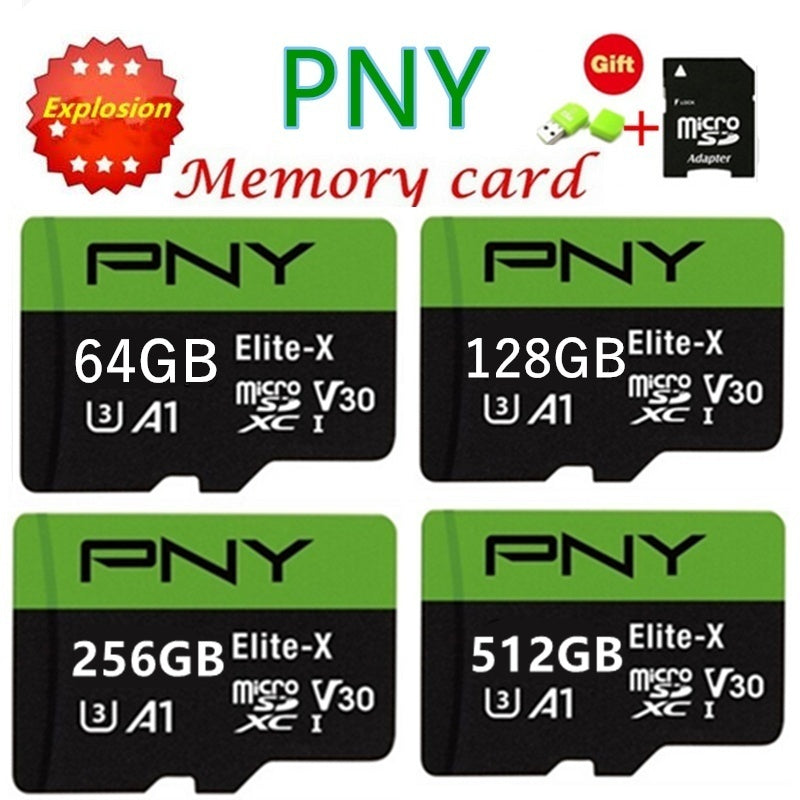 New high speed sd card 512GB 256GB 128GB 64GB 32GB 1GB  USB drive Micro SD Micro SDHC Micro SD SDHC card 10 UHS-1 TF memory card   card reader