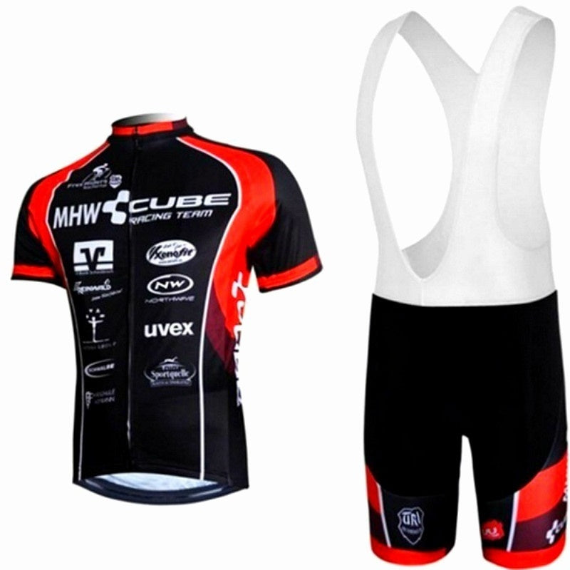 Summer Cycling Jersey Cube Cycling Sets White Cycling Clothing MTB Mountain Ropa Ciclismo