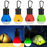 New Portable LED Camping Hanging Light Tent Fishing Lantern Lamp Emergency Lamp Outdoor Accessories 1/5/10/12 Pack