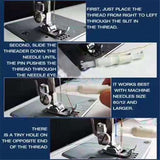 Mini Handheld Sewing Machine Home Travel Use Portable Multi-Functional Tenbeautiful &Amp; Sewing Machine Accessories Set