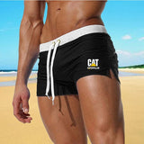 New Summer Sexy Men's Swimsuit Surfboard Beach Swim Trunks Boxer Shorts (10 Colors)