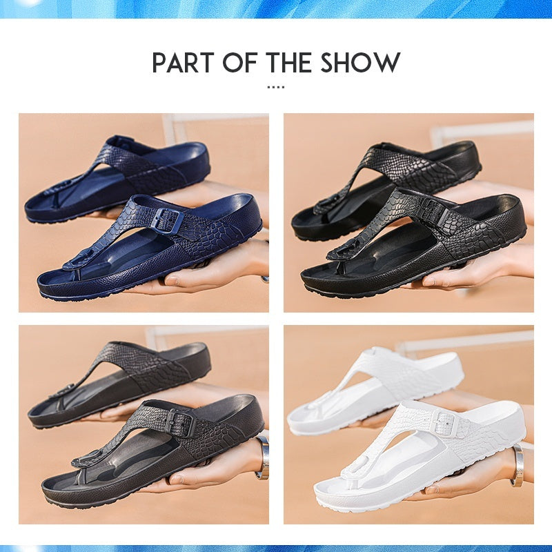 Mens Flip Flops Sandals Rubber Casual Men Shoes Summer Fashion Beach Flip Flop Slippers Sapatos Hembre Sapatenis Masculino