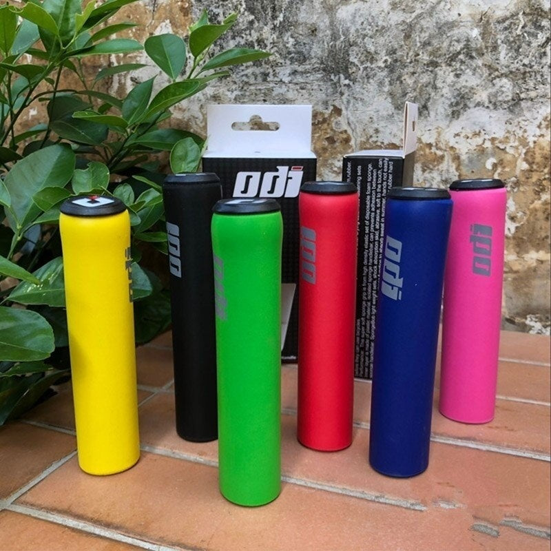 ODI Bicycle Grips MTB Bike Silicone Handlebar Grips Anti-skid Shock-absorbing Soft Mountain Bicycle Grip Bike Accessories