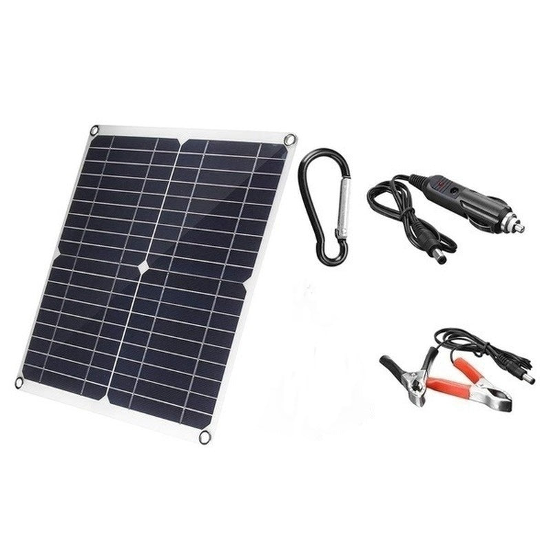 600W Solar Panel with 100A 12V 24V Controller, PWM Solar Panel Charging Controller for RV Marine LCD Display