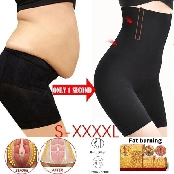 Fat Burning High Waist Underwear Body Shaping Underwear Seamless Abdomen Control Shaping Pants