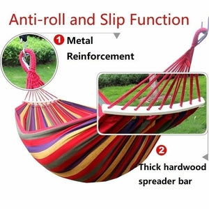 Protable Leisure Hammock Garden Swing Chair Sleeping Bed Portable Indoor Outdoor Camping Garden Hanging Chair Fauteuil Dropshipping