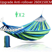 Load image into Gallery viewer, Protable Leisure Hammock Garden Swing Chair Sleeping Bed Portable Indoor Outdoor Camping Garden Hanging Chair Fauteuil Dropshipping