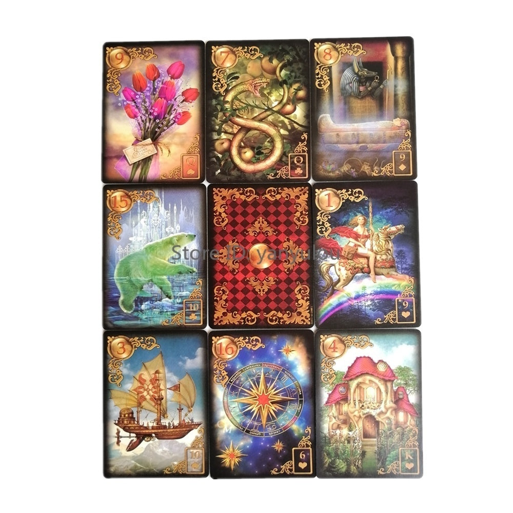 English Read Fate Card Game Board Game Romance Angels Oracle Cards Tarot Deck For Personal Use 10 Styles