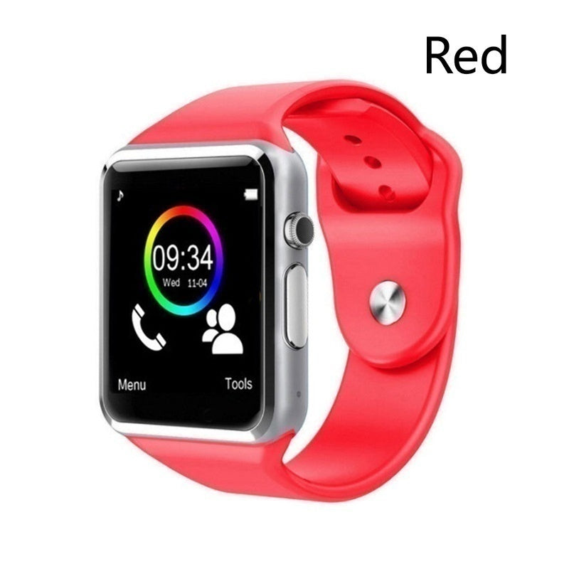 NEW Waterproof Smart Watch Bluetooth GSM Sim Phone Pedometer Sedentary Remind Sleep Monitor Remote Camera For Android/iOS(No Card)