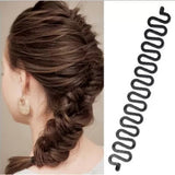 New 5Pcs Fashion French Hair Braiding Tool Roller With Magic Hair Twist Styling Hair Clip