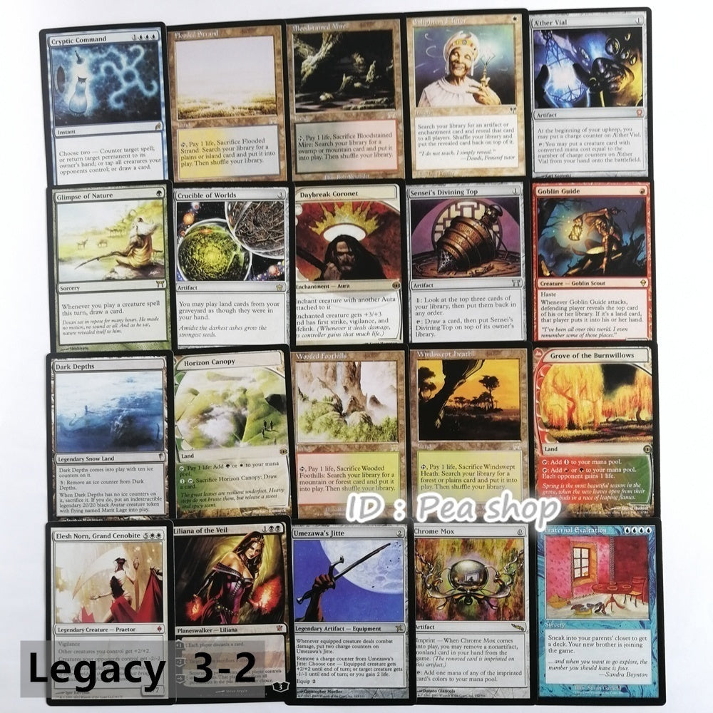 MTG Proxy cards magic cards Hologram card EDH Blue core/Black core
