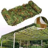 Muti-Size Hunting Camping Outdoor Desert Woodland Blinds Army Military Camouflage Camo Net Sun Shelter Jungle Sun Shelter Car Cover